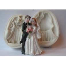 """Силиконовый молд 3D """"Жених и Невеста"""""""