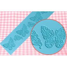 Мат для айсинга Бабочки 35х8 см