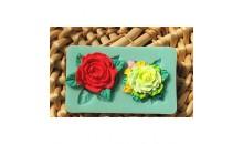 Молд силиконовый Цветущие розы.