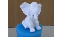 Силиконовый молд 3D Слонёнок