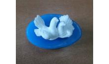 Силиконовый молд 3D Голубки