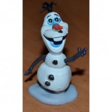 Силиконовый Молд 3D снеговик Олаф